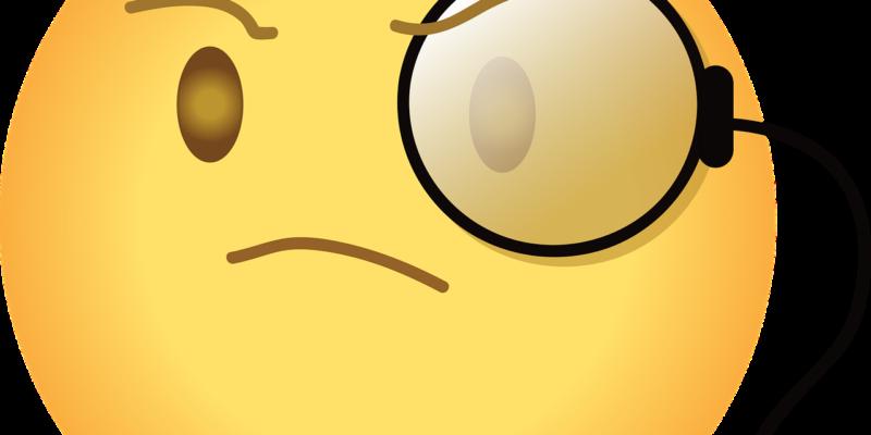 Zelfverzekerd of arrogant - emoji