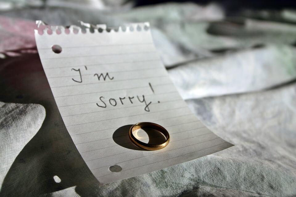 Schuld of excuses, een nuance
